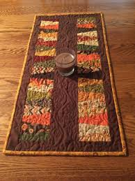 Fall Table Runners by Sold Quilt Photos U2014 Quilts By The Creek