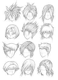 spiky anime hairstyles spiky anime hair awesome guy hairstyles drawing hair haircuts