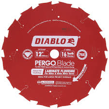 Laminate Floor Cutting Tools Freud D1216lf Pcd Laminate Flooring Blade Amazon Com