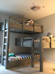 3 Bed Bunk Bed 3 Bed Bunk Beds For Simple Interior Design For Bedroom