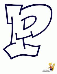 the letter p in graffiti wall graffiti art