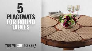 placemats for round table best placemats for round tables 2018 kitchen table placemat and