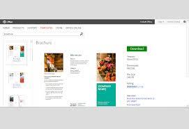 ms word brochure template brochure templates word mughals