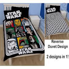 star wars duvet covers bedding u2013 single u0026 double sizes u2013 darth