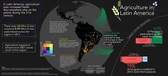South America Satellite Map by Satellite Mapping Reveals Agricultural Slowdown In Latin America
