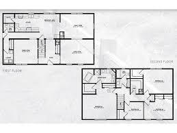 Jefferson Floor Plan by Jefferson Iii Two Story Modular Home 2 800 Sf 4 Bed 2 1 2 Bath