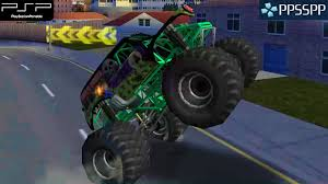 monster truck racing games free download monster jam urban assault psp gameplay 1080p ppsspp youtube