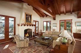 spanish style ranch homes hope ranch spanish style custom home family room spanish