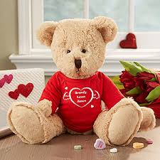 engraved teddy bears personalized teddy gift with custom heart t shirt