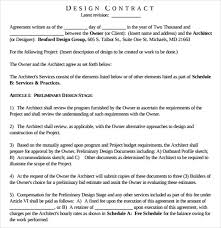 Interior Design Letter Of Agreement Sample Contract Proposal Template Free Business Purchase Proposal