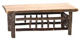 Open Coffee Table Rustic Coffee Tables And Rustic End Tables Black Forest Décor