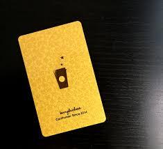 starbuck gold card coffee cards berryduchess