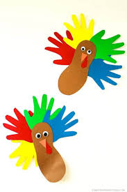 that u0027s what che said hand and footprint turkey kids craft