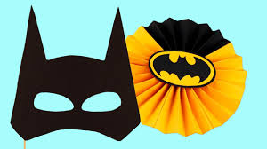 Batman Decoration 5 Diy Batman Party Decoration Accessories Youtube