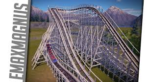 Six Flags The Great Escape Planet Coaster Recreation The Comet Six Flags Great Escape