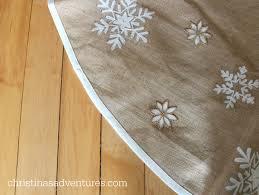 Christmas Tree Skirt Burlap 1902 Victorian Christmas House Tour Christinas Adventures