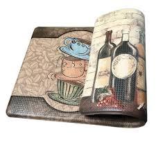 Anti Fatigue Kitchen Floor Mats by Art3d Premium Reversible Anti Fatigue Kitchen Mat Non Slip Kitchen