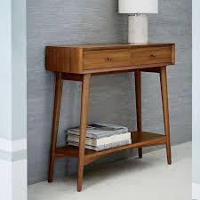 west elm mid century mini desk mid century modern console table new mini acorn west elm in 4