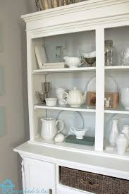 remodelando la casa painted hutch
