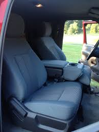 Ford F350 Truck Seats - 2014 super duty seats in my obs ford truck enthusiasts forums
