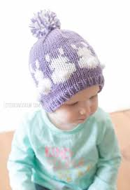 easter bunny hat fair isle easter bunny hat knitting pattern for babies and