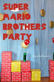 mario wrapping paper best 25 diy mario birthday party ideas ideas on