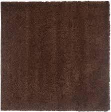 lush brown shag rug california shags safavieh com
