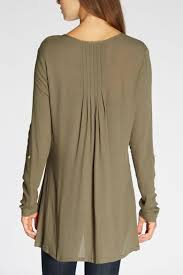 pleated blouse the dressing room pleated back blouse from california shoptiques