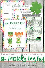 st patricks day printable activity pack for kids