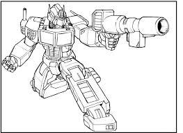 transformer coloring pages printable optimus prime transformers coloring picture for kids