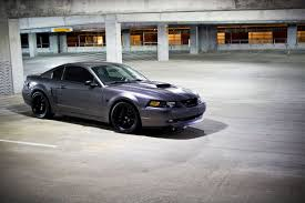 All Black Mustang Friday Fan Feature Michael Scribellito U0027s Sleek 2004 Mustang Gt