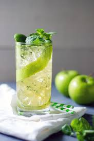 green cocktail cocktail of the month apple mojito u2014 today u0027s nest