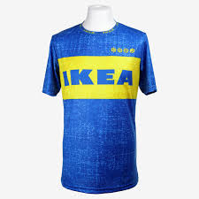 there u0027s now a football jersey made out of ikea shopping bags