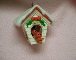 vintage house ornament etsy