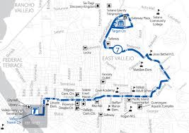 Bart Map And Schedule by Soltrans Route 7 U2013 Springs Rd