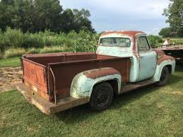 ford 1954 truck ford f 250 standard cab 1954 blue for sale xfgiven vin