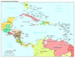 Usa Capitals Map Maps Of The Americas Central America Political Map Capitals New