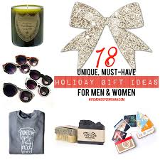 18 unique must have holiday gift ideas for men u0026 women plus