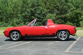 classic porsche 914 1972 porsche 914 1 7l 4 cyl guards red excellent condition