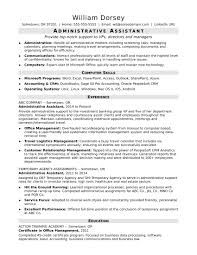 resume exles for assistant midlevel administrative assistant resume sle
