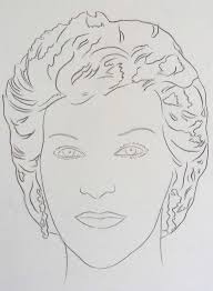 andy warhol female portrait princess diana at 1stdibs