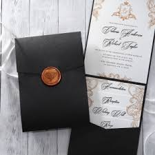 invitation pockets pocket invitations for your wedding functional stylish