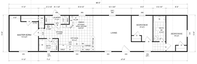Floor Plans For Mobile Homes Single Wide Baldwin 14 X 66 902 Sqft Mobile Home Factory Expo Home Centers