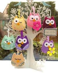 108 best búhos images on owls felt owls and owl crafts