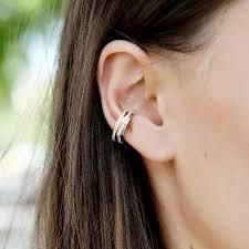 s ear cuffs silver circle 2 0 ear cuff
