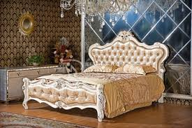 High Headboard Beds Royal Bedroom Sets European Style Headboards White Bed View High