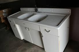 metal kitchen sink cabinet for sale vintage youngstown by mullins steel metal retro kitchen