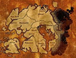 Solstheim Map Second Age Map Of Tamriel By Dovahfahliil On Deviantart