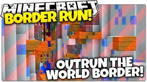 Map Your Run Minecraft Border Run Outrun The World Border Or Die Minecraft