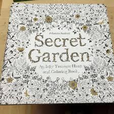 secret garden coloring book chile secret garden coloring book for children and relieve